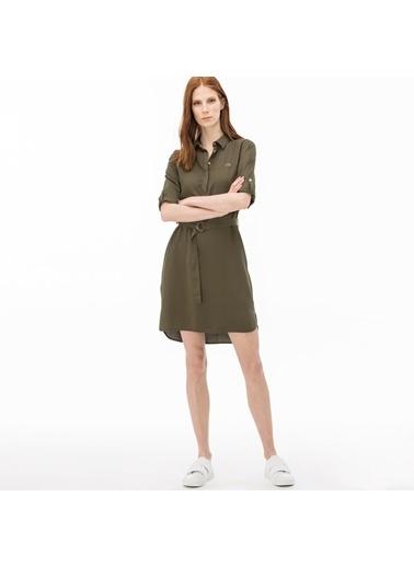 Lacoste Kadın  Gömlek EF0912.12Y Yeşil